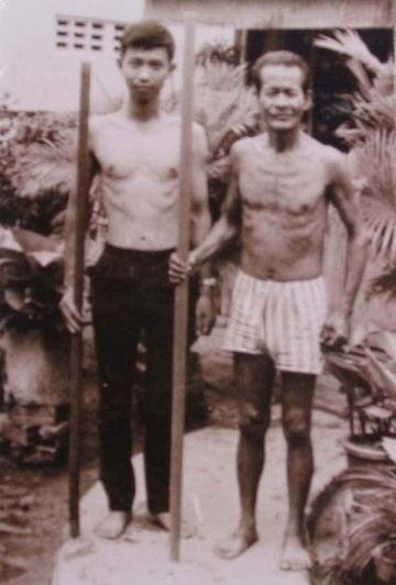 Sư Phụ Nguyễn Lành và Hùng Sơn